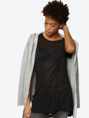 Soft T-Shirt in a Longer Tunic Style