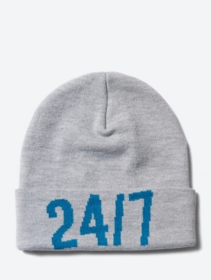 Beanie with Number Motif on the Front