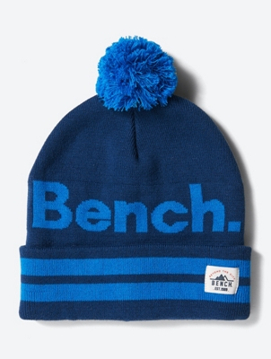 Hat with Bobble and Bench Logo