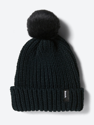 Chunky Knit Hat with Bobble
