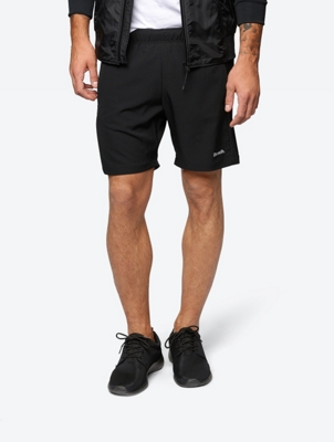 Lightweight Shorts with a Fine Structured Pattern