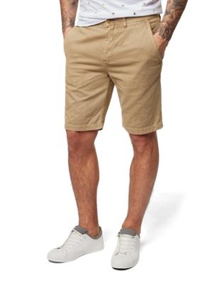 Twill-Shorts im Chino-Stil