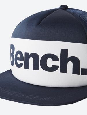 Plain Cap with Bench Print