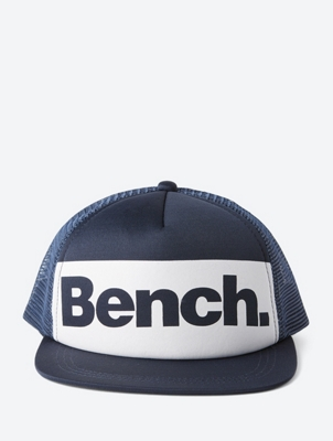 Plain Cap with Bench Print