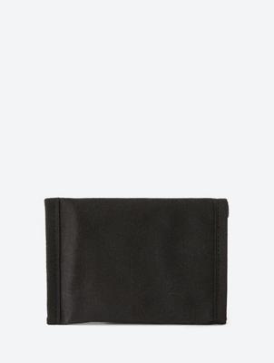 Unifarbene Geldbörse aus Canvas
