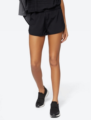Plain Shorts with Integrated Pants