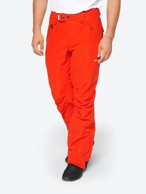 Plain Ski Pants with Waterproof Properties