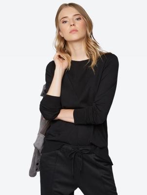 Plain Jumper in Fine Knit Quality