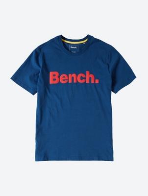 Plain T-Shirt with Contrasting Logo Print