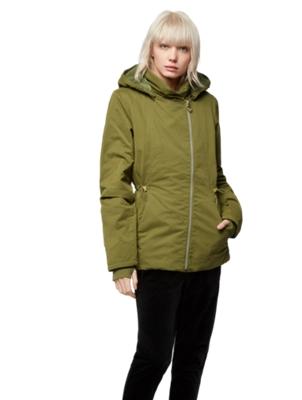 Warm Short Parka with Detachable Hood