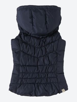 Gilet with Removable Hood