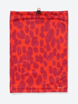 Gepunkteter Tube-Schal mit Fleece-Futter