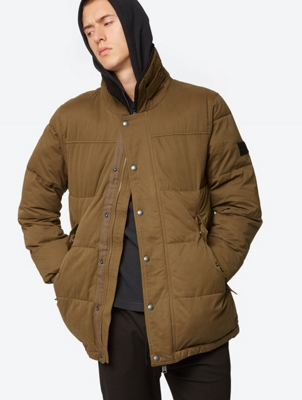 Warming Quilted Jacket with Standing Collar