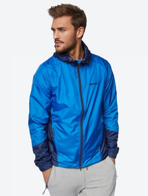 Ultra Lightweight Windbreaker in a Two-Tone Design