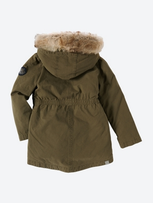 Parka with Removable Quilted Inner Jacket