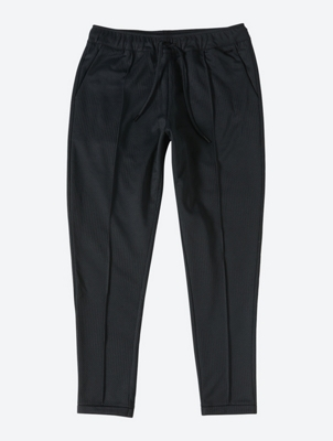 Trousers with Stripe Texture