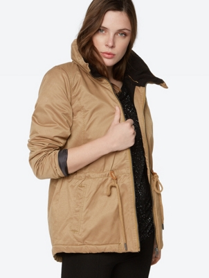 Water Repellent Jacket in Parka style