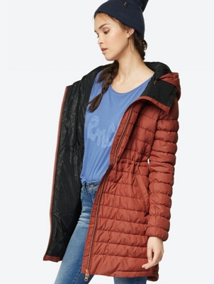Water Repellent Quilted Insulator Coat