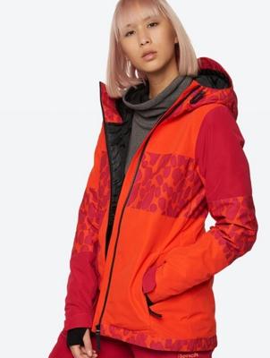 Waterproof Jacket in a Pattern Blend Design
