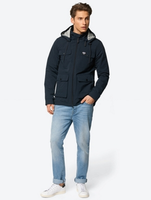 Weatherproof Jacket with Detachable Hood