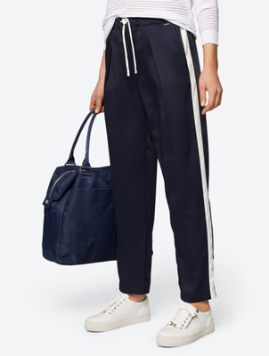 Trousers with Contrast Sport Stripe